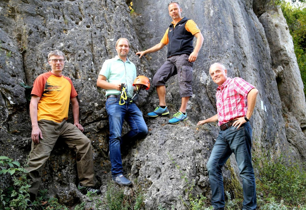 Klettersteig Fränkische Schweiz : Obertrubach mit klettersteig mehr urlauber nach holen