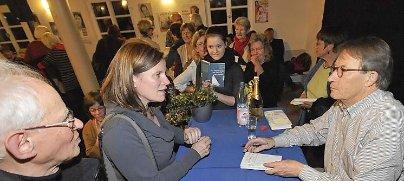 Flirten Verbal Buchner Preistrager Friedrich Christian Delius Re Schrieb Nach Seiner Rund Einstundigen Lesung
