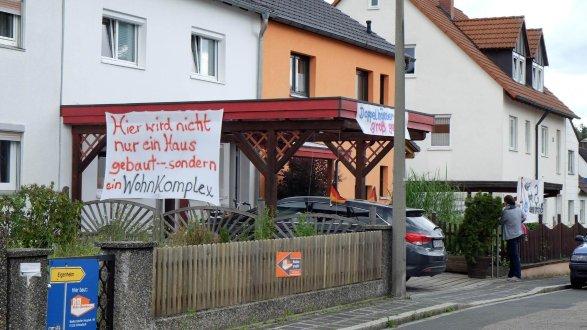 Baufirmen Nürnberg kettelersiedlung anwohner gegen wohnkomplex in kettelersiedlung