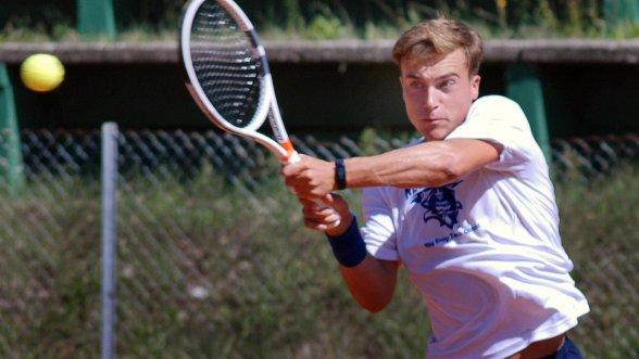 Diesmal war im Halbfinale Schluss: Nico Kramer vom TC Rot-Weiß hat beim Jugend Tennisturnier in Erlangen das Endspiel verpasst.