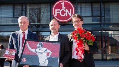 1 Fc Nurnberg Gewinne Ein Exklusives Treffen Mit Dieter Eckstein
