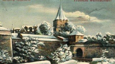 Nürnberg Das Tiergärtnertor Visitenkarte Des Alten