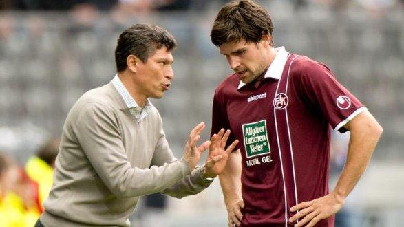 Die Anweisungen zum Wiederaufstieg soll beim FCK ein anderer geben: Krassimir Balakov (links) wurde nach sieben Niederlagen in acht Spielen entlassen.