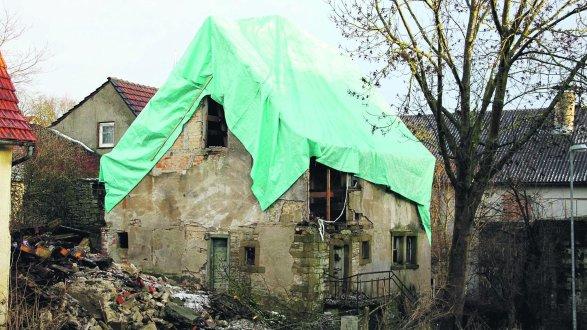 Im keinem guten Zustand ist die Synagoge in Allersheim, die ins Freilandmuseum ziehen soll.