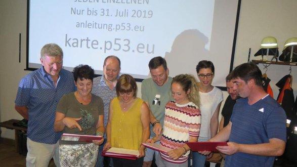 Die Initiatoren zur Gründung einer Bürgerinitiative im Bereich der Gemeinde Rohr gegen die Stromtrasse P53 freuten sich nach der Informationsversammlung über das hohe Interesse der Bevölkerung.