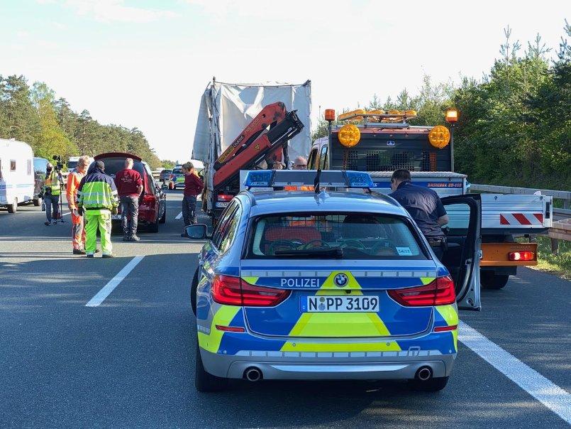 Accidente fatal en A9: el camión llega al extremo del atasco