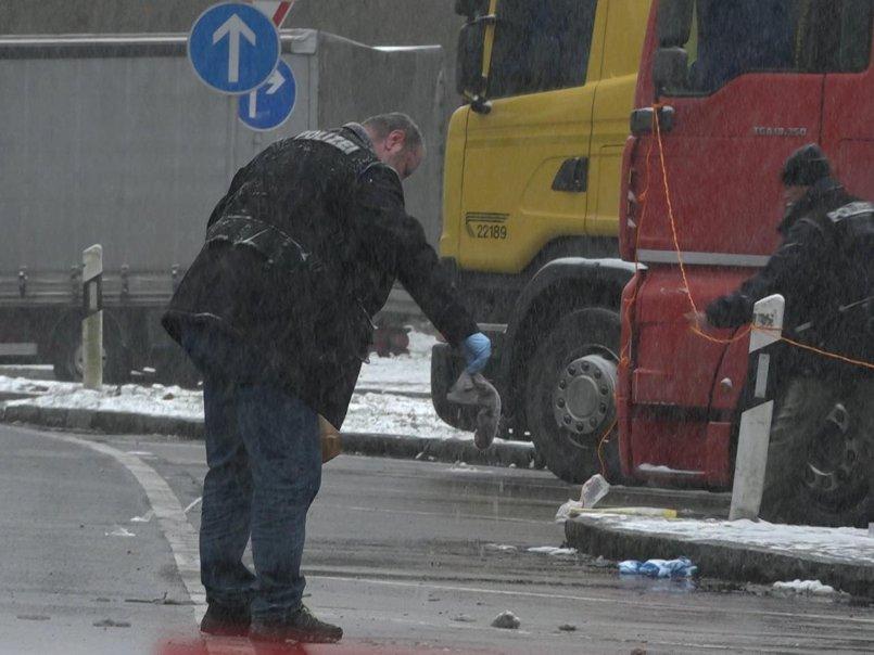 El conductor del camión muerto descubierto en el área de descanso en A9 - las investigaciones están en curso